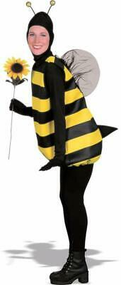 Bumble Bee Halloween Costumes Adults (Bumble Bee Tunic Animal Insect Unisex Fancy Dress Up Halloween Adult)
