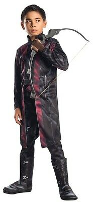 Boys Child Muscle Deluxe Marvel HAWKEYE Avengers 2 Licensed Costume - Hawkeye Costume For Boys