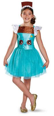 Mädchen Shopkins Klassisch Frecher Schokolade Kostüm Halloween Verkleidung Klein