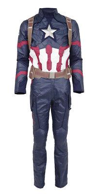 Captain America Battle Suit Cosplay Costume Steve Rogers Men's Cosplay Full - Captain America Costume Cosplay