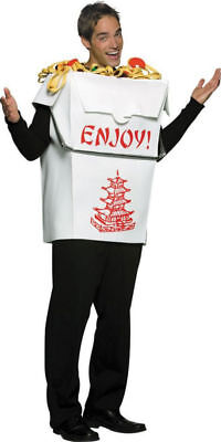 Rasta Imposta Chinese Take Out Enjoy Noodles Adult Mens Halloween Costume - Male Chinese Halloween Costumes
