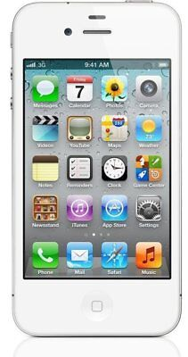 Apple iPhone 4s - 16GB - White (Factory GSM Unlocked AT&T / T-Mobile) Smartphone