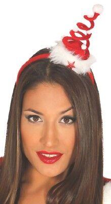 Damen Rote Weihnachten Weihnachtsbaum Stirnband Haarband Kostüm Hut - Weihnachtsbaum Outfit