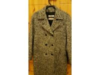 Ladies aquascutum coat in mixed tweed