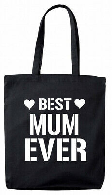 Best Mum Ever Tote Bag, Christmas Birthday Gifts Presents for mum,