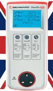 New Seaward Primetest 100 PAT Tester Starter Kit - Quality & Value Kit.