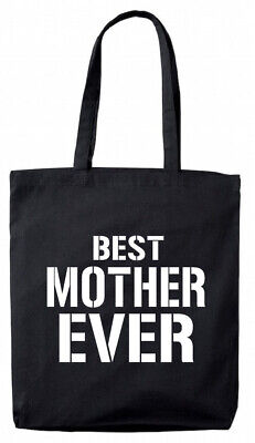 Best Mother Ever Tote Bag, Christmas Birthday Gifts Presents for mum,