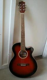 Santa Fe Electro-Acoustic Guitar - Good working order
