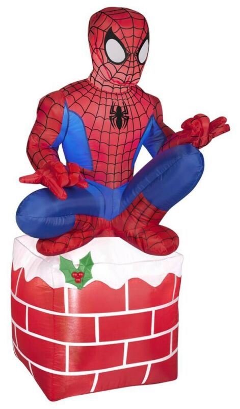 Marvel Spider-Man Christmas Inflatable