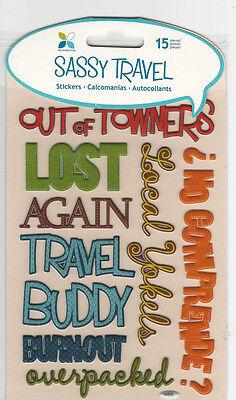 Momenta Sassy Travel 3D Stickers