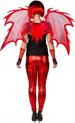 fel Dämon Hell Halloween Kostüm Flügel (Dämon Kostüm Flügel)