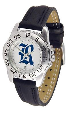 (Rice University Owls Women's Leather Band Athletic Watch)