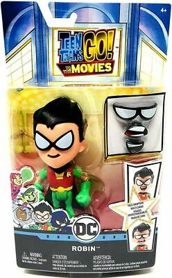 Teen Titan Robin (Teen Titans Go! Movie Face-Swappers Robin Action Figure)