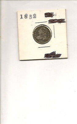 1832 90% Silver Capped Bust Dime Coin!