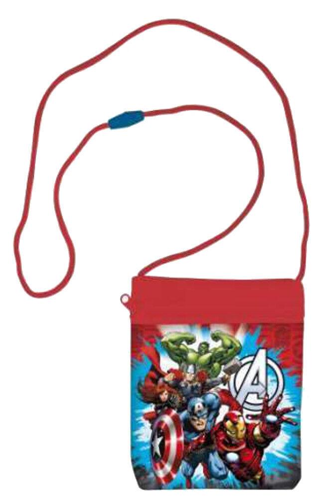The Avengers Kinder Brustbeutel Geldbeutel Geldbörse Portemonnaie