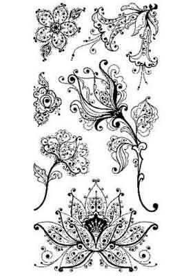 (Clear Stamps: Artistic Flower Creation)