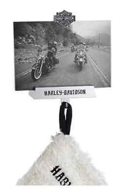 - Harley-Davidson Bar & Shield Photo Frame Fireplace Stocking Holder, 96818-16V