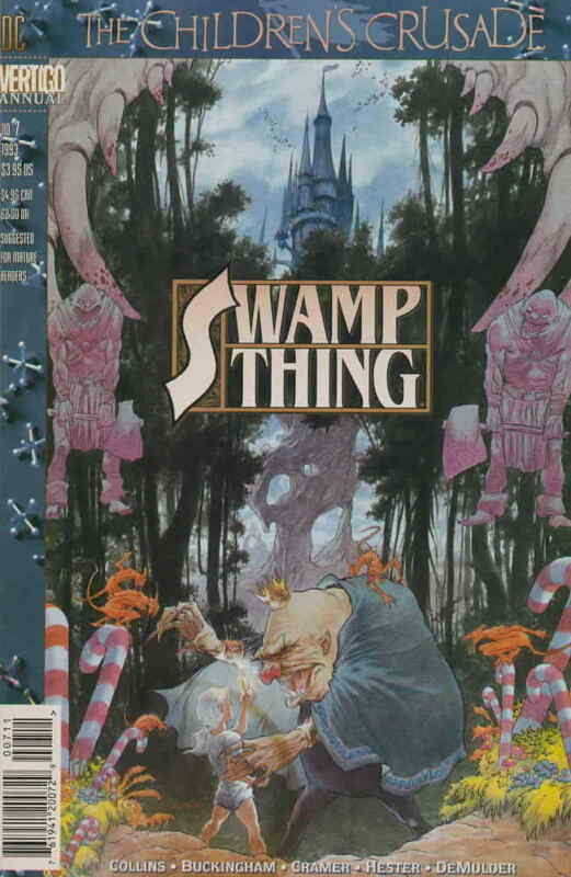 Swamp Thing (2nd Series) Annual #7 VF; DC | save on shipping - details inside