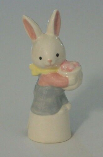 Pie Bird Bunny Rabbit With A Basket of Easter Eggs  Piebird USA Made
