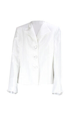 Le Suit New White Three-Button Blazer  Msrp $200 Clothing, Shoes & Accessories