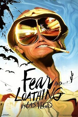 FEAR AND LOATHING IN LAS VEGAS - MOVIE POSTER - 24x36 DEPP THOMPSON 3032