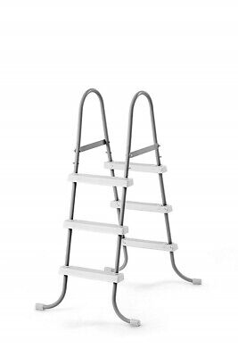 Intex Steel Frame Above Ground Swimming Pool Ladder for 42