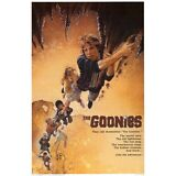 THE GOONIES - MOVIE POSTER - 24x36 CLIMBING CLASSIC 4554