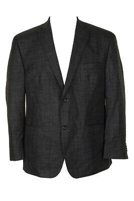 Michael Kors Mens Charcoal Plaid Blazer 42S Clothing, Shoes & Accessories