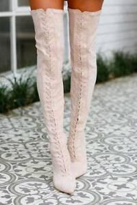 Billini Rahda Boots in Blush Suede Size AU 9 West End Brisbane South West Preview
