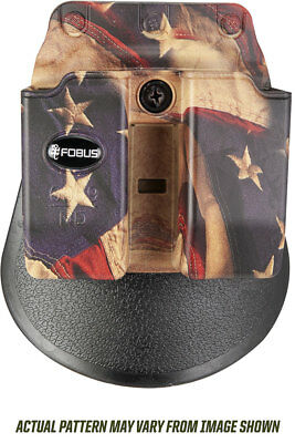 Fobus Belt Pouch - FOBUS FLAG PADDLE CLIP BELT HOLSTER DOUBLE MAG POUCH FITS 9MM 40 CAL