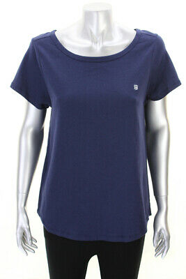 TOMMY HILFIGER NEW NAVY SHORT-SLEEVE BOXY NIGHT TEE MSRP $30 Clothing, Shoes & Accessories