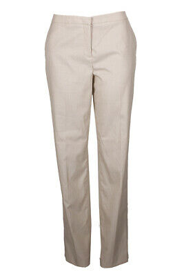 Tommy Hilfiger Tan Straight-Leg Fairfield Trousers 12 Clothing, Shoes & Accessories