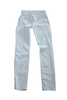 7 For All Mankind New White  Skinny Jeans 24 $168 Clothing, Shoes & Accessories