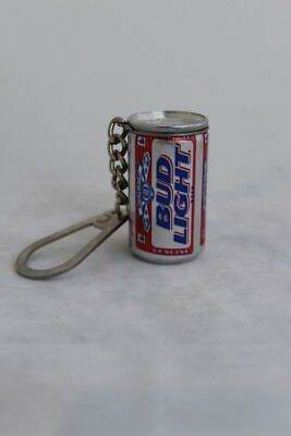 Bud Light Miniature Can Key Chain - Made in - Bud Light Made