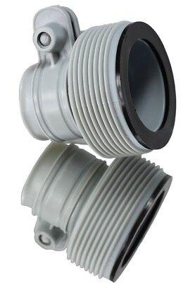 Hose Conversion Adapters kit for Intex 1500gph and 2500gph pumps