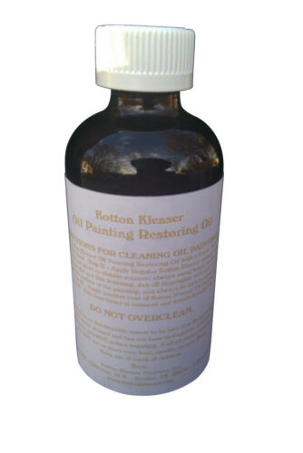 Kotton Klenser OIL Painting Restoring OIL 6 Oz.