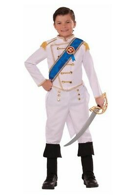 Happily Ever After Prince Charming Child White Costume Boys Fairy Tales Royalty
