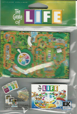 Hasbro Game Stickers - Hasbro LIFE game 3D Stickers