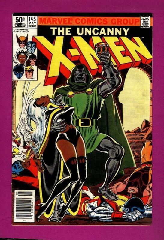 UNCANNY X-MEN #145 DR DOOM CHRIS CLAREMONT~DAVE COCKRUM (1981)