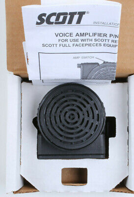Scott Voice Amplifier Amp 804564-01 Use With Av2000 Av3000 Mask