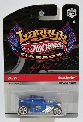 "Hot Wheels 2008 Larry's Garage ""Bone Shaker"" (Signed) 19 of 20 ""NIP"""