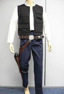 Star Wars Han Solo ANH Full Costume Belt Holster Droid Caller set Halloween (Han Solo Costume Belt)