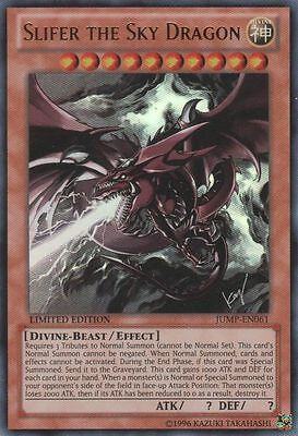 *** SLIFER THE SKY DRAGON *** ULTRA RARE ORIGINAL MINT/NM JUMP-EN061 YUGIOH !
