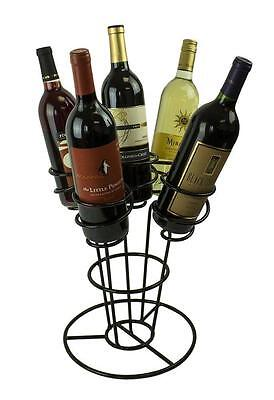 Bouquet Wine Rack, Holds 5 Bottles