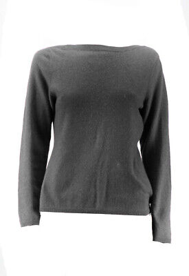 Charter Club New Cinder Long-Sleeve Crewneck Cashmere Sweater XS $139 Clothing, Shoes & Accessories