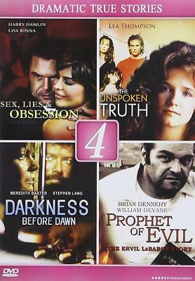 Lifetime Films: True Drama (DVD) Sex Lies Unspoken Truth Darkness Dawn Evil NEW ()