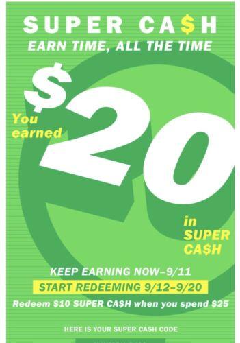 Old Navy Super Cash 20 Off 50, Valid 9/12-9/20 - $4.49