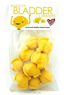 Bag of 12 I Heart Guts Share Your Kidney Erasers