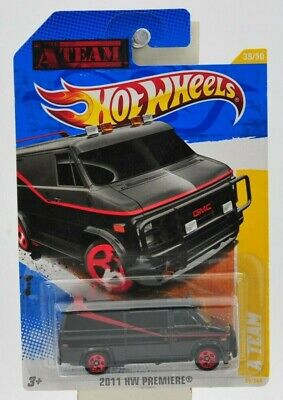 """Hot Wheels 2011 HW Premiere """"A Team"""" GMC Van  """"NIP"""""""
