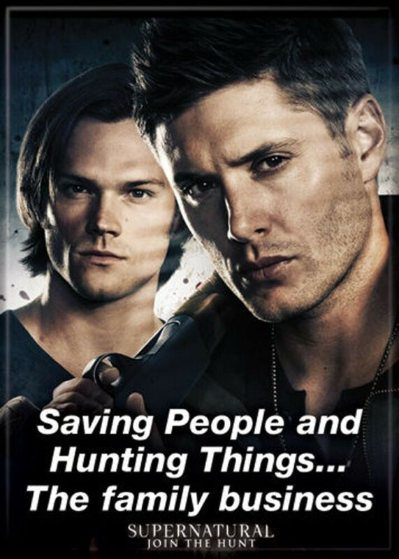 Supernatural The Family Business 2.5 x 3.5 Photo Magnet